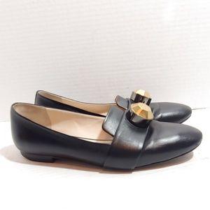 Christopher Kane designer leather loafers